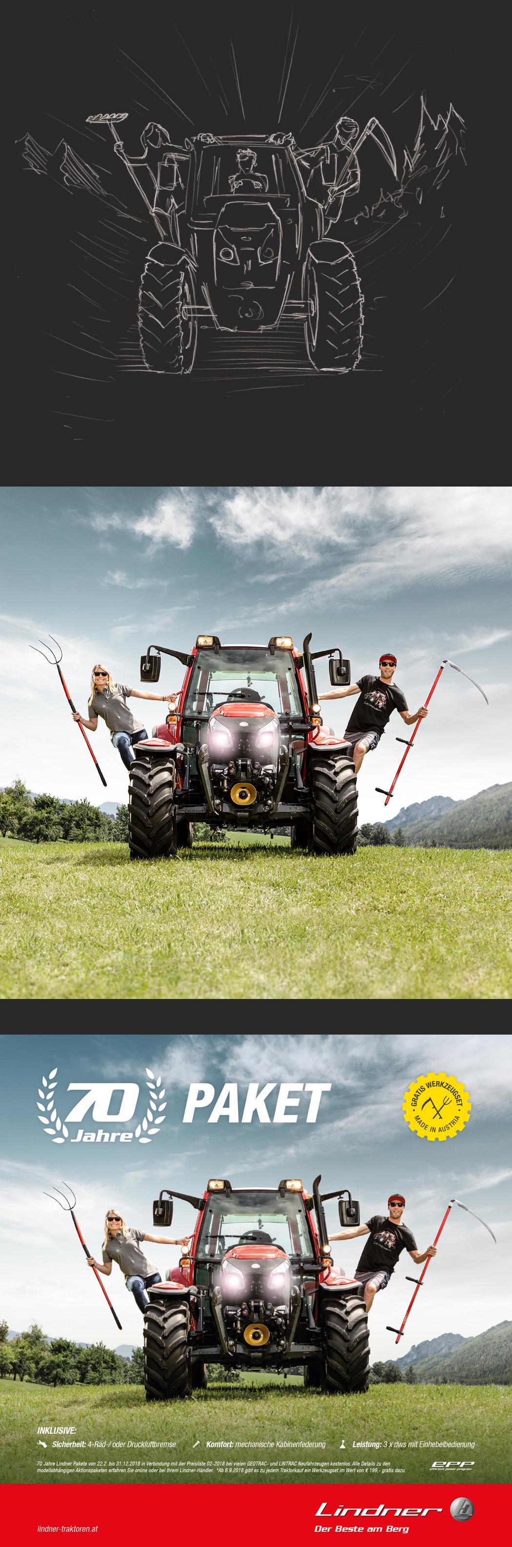 ACC Referenz Lindner Traktoren